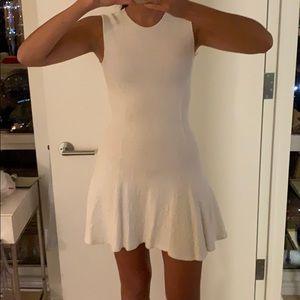 Ronny Kobo White Mini Dress